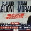 Gianni Morandi-Claudio Baglioni, concerti Roma 10-22 settembre: come acquistare biglietti
