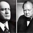 Benito Mussolini e Winston Churchill