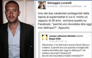 """Jacopo Nichetto: """"Selvaggia Lucarelli mi ha scambiato per carabiniere-rapinatore"""""""