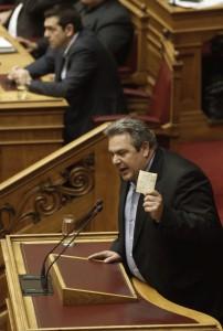 Guarda la versione ingrandita di Grecia minaccia UE: