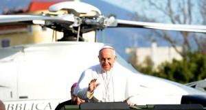Papa Francesco corsa al wc? No: preghiera al beato di Pompei Bartolo Longo a sorpresa