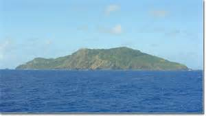 L'isola di Pitcairn nel sud Pacifico