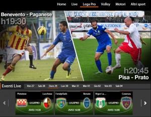 Pistoiese-Lucchese: diretta streaming Sportube. Info, link e formazioni