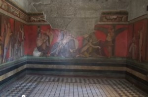 Villa dei Misteri a Pompei: VIDEO affreschi oscurati