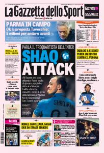 """Shaqiri: """"Inter, sono il tuo genio della lampada. Vinciamo l'Europa League"""""""
