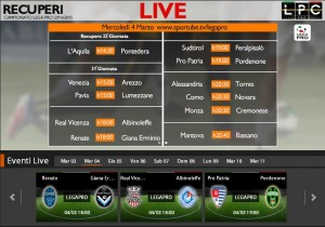 Pro Patria-Pordenone: diretta streaming Sportube, ecco come vederla