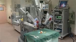 Il robot Da Vinci per interventi prostatici