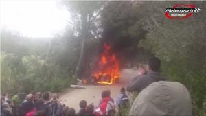 VIDEO YouTube. Rally di Maiorca, auto esplode: morto Josè Lumbreras