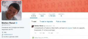 Twitter, Renzi supera Grillo. La top ten dei politici: Vendola, Bersani...