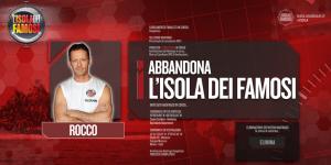 Isola dei Famosi: Rocco Siffredi eliminato