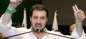 """Matteo Salvini: """"Ue peggio del fascismo, spread al posto dell'olio di ricino"""""""