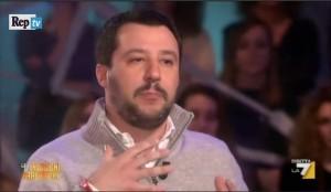 """Matteo Salvini: """"Renzi antipatico, non lo sopporto proprio"""" VIDEO"""
