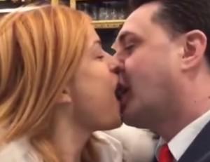 VIDEO YouTube - Sara Tommasi si sposa con Andrea Diprè? Annuncio e bacio