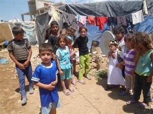 Bambini siriani