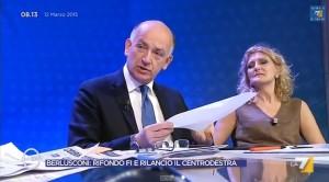 Paolo Sisto (Fi) strappa in diretta articolo di Repubblica