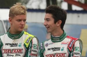 Mick Schumacher, incidente a 160 km/h in Formula 4