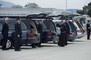 Tunisi, le quattro vittime italiane sono state rimpatriate. Renzi a Ciampino