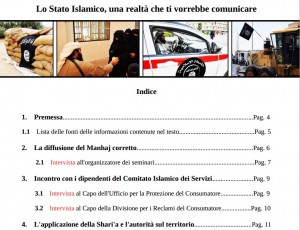 Isis, documento in italiano: sharia, polizia islamica e donne invisibili