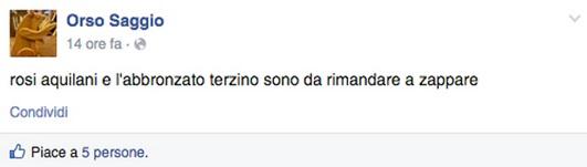 "Tiziano Renzi su Facebook: Micah Richards ""terzino abbronzato"""