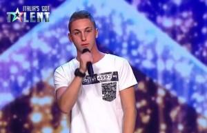 VIDEO YouTube - Alessandro Travaglio figlio di Marco, rap a Italian's Got Talent