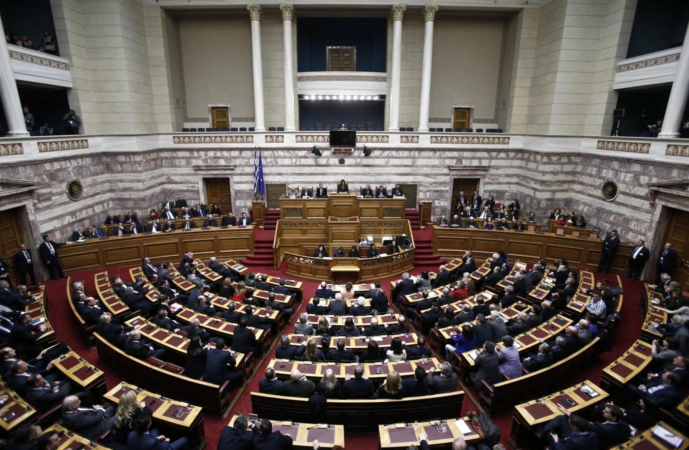 Il parlamento di Atene (www.blitzquotidiano.it)