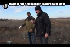 Le Iene, italiani in Ucraina per combattere la guerra VIDEO