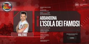 Isola dei Famosi, Valerio Scanu eliminato: in gara Cecilia Rodriguez