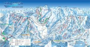 Germanwings, evitato per poco impatto su piste sci Vialattea