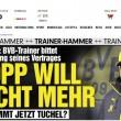 """Jurgen Klopp lascia il Borussia Dortmund. Bild: """"Chiesta la rescissione"""""""