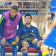 VIDEO YouTube, Alvaro Morata vomita in panchina durante Monaco-Juve 03