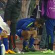 VIDEO YouTube, Alvaro Morata vomita in panchina durante Monaco-Juve 02