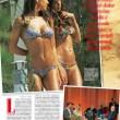 Belen Rodriguez e la sorella Cecilia in costume per la loro line Beachwear FOTO 3