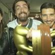 Belen Rodriguez, Valerio Staffelli, Stefano De Martino e il tapiro d'oro