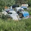 Roma, incendio in campo Rom: trovato cadavere dopo 10 ore