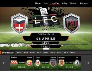 Como-Cosenza: diretta streaming Sportube. Info, link e formazioni