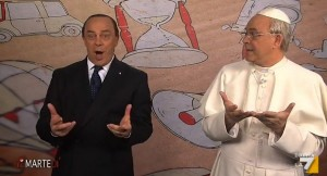 VIDEO YouTube. diMartedì, Maurizio Crozza: auguri Pasqua con migliori imitazioni