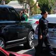 David e Victoria Beckham in doppia fila bloccano traffico: interviene polizia 05
