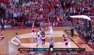 VIDEO YouTube, Duke vince NCAA: Wisconsin battuta 68-63