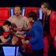"""The Voice, Francesco Facchinetti fa tatuaggio in diretta: """"I Love J Ax"""" FOTO 6"""