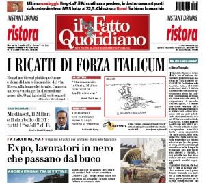 """Marco Travaglio sul Fatto Quotidiano: """"Ma che paura avete?"""""""