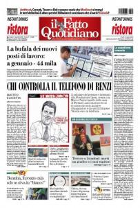 """Marco Travaglio sul Fatto Quotidiano: """"La questione umorale"""""""