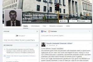 """""""Claudio Giardiello criminale o eroe?"""". Su Facebook spunta pagina shock"""