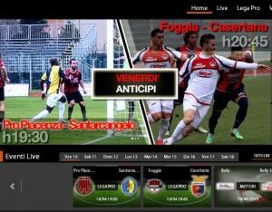 Foggia-Casertana: diretta streaming Sportube su Blitz. Diretta tv RaiSport 1. Info e formazioni