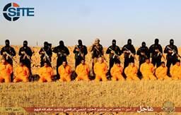 Isis pubblica foto esecuzione 11 membri milizie sciite in Iraq