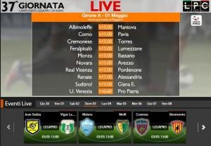 Juve Stabia-Lamezia: diretta streaming Sportube su Blitz. Formazioni e info