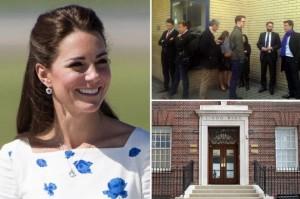Kate Middleton nella piscina di Buckingham Palace per accelerare il parto