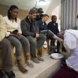 Sylvie Lubamba: papa Francesco le lava i piedi in carcere5