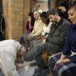 Sylvie Lubamba: papa Francesco le lava i piedi in carcere123