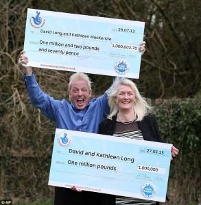 Vincono 1 mln di sterline alla lotteria: è la seconda volta in 2 anni!
