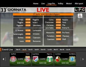 Lupa Roma-Vigor Lamezia: diretta streaming Sportube. Info, link e formazioni